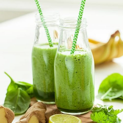 healthy-green-spinach-smoothie