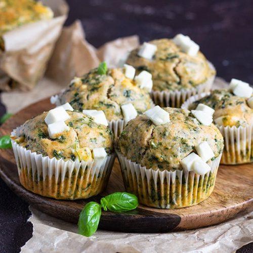 muffins-spinach