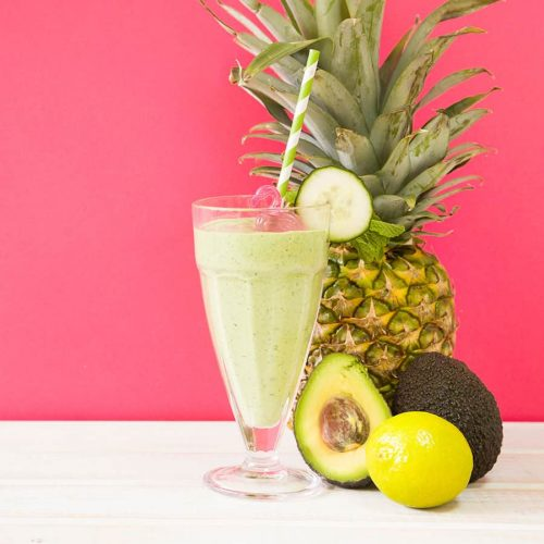 smoothie-with-pineapple