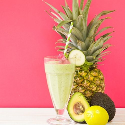 summer-smoothie-with-pineapple